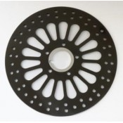 KING SPOKE ROTOR,KING SPOKE,BLK,84- LTR, FRT 90-635