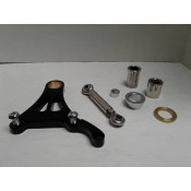 Factory Products, Black Springer Caliper Mounting Bracket Kit.