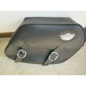 Harley Davidson  100 Th Anniversary DYNA Leather Saddle Bags 91622-03