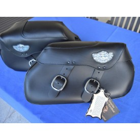 HARLEY DAVIDSON 100th ANNIVERSARY DEUCE FSXTD SADDLEBAGS HD 92018-03