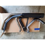 USED - 2017 later FL OEM Exhaust pipes with black shields