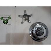"USED - Air Breather Centre Trim - Chrome - ""105"""