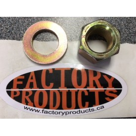 REPLACEMENT NUT  WITH WASHER FOR BEARING EXTRACTOR FROM BEARING INSTALL/REMOVAL KIT PART # 97-290