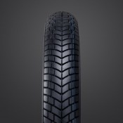 Vee Rubber, VRM-191 Black Wall Tire, 80/90-21