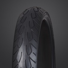 Vee Rubber, VRM-302 Front Black Wall Tire, 130/90-16