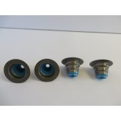 Factory Products, Top Hat Style Valve Stem Seals, Four Pack.