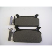 Factory Product, SEMI-METALLIC REAR Brake Pads, 86-96,43957-86