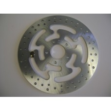 Factory Products, Steel Drilled Disc Rotor Front Left OE Style Fits