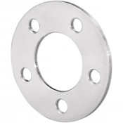 "1/4"" PULLEY SPACER, POLISHED ALUMINUM, NO FLANGE, '84-'99"