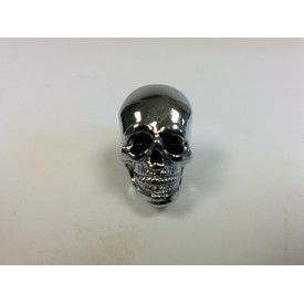 Chrome Dye Skull Black Eyed Seat Krommets 5/8