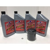 ENGINE OIL CHANGE KIT SYNTHETIC  20W50 25-2002 ALL BAGGER MODEL 99- LATER