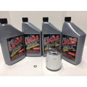 ENGINE OIL CHANGE KIT SAE 50W 25-4001 BIG TWIN EVO