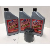 ENGINE OIL CHANGE KIT SYNTHETIC  20W50 25-3002 2000- LATER  FLST FXST DYNA
