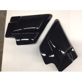 BLACK LEFT AND RIGHT FLHTC SIDE COVER PANELS REPLACES 2009 THRU 2015