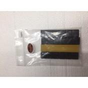 BLACK 1/4 OZ BALANCE STRIPS FOR WHEELS 4 3oz  STRIPS PER PACK 1448B