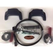 NEW Harley Davidson S'Bag Lid Spoiler Kit / blue pearl/ 58606-08CPC