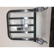NEW HARLEY DAVIDSON SPORT LUGGAGE RACK 5 BAR CHROME 53862-00