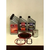 OIL CHANGE KIT, TWIN CAM '06 & LATER , SYNTHETIC