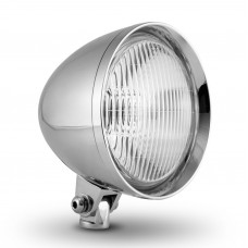 """Factory Products, Chrome Plated 5 3/4"""" Chopper Headlight."""