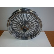 Factory Products, Chrome Plated 16 x 3.5 Rear Wheel.