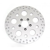 "Factory Products, OEM 11.5"" Front Drilled Polished Rotor."