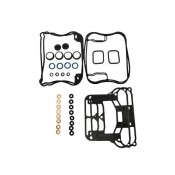 Sportster, Rubber Rocker Gasket Kit, 1989-03.