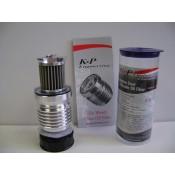 K&P, High Flow Rate Reusable Oil Filter, S4