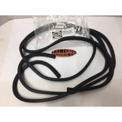 FACTORY PRODUCTS RUBBER SEAL FOR HD SADDLEBAG LIDS..... WEATHER STRIP