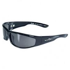 Wiley X SSREV1, Gloss Black Frames W/ Smoke Lenses