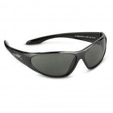 Wiley X, SSSTR1. WX Stryker Gloss Black Frame w/ Smoke Lenses