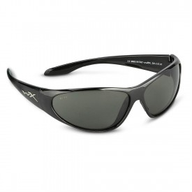 Wiley X, SSSTR1. WX Stryker Gloss Black Frame w/ Smoke Lenses
