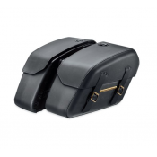 Harley-Davidson, 90201645, Detachables Saddlebags, Brass Trim