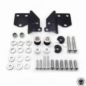 BLACK  DETACHABLE FRONT DOCKING HARDWARE KIT