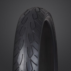 Vee Rubber, VRM-302 Front Black Wall Tire, 120/70-21.
