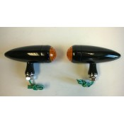 Factory Products, Black Bullet, Amber L,E,D Marker Light