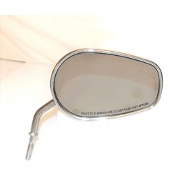 HARLEY DAVIDSON CHROME MIRRORS TOURING SOFTAIL DYNA XL 883 1200 FXDL FXDC FXLR RIGHT HAND 91840-03B